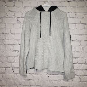 Romeo & Juliet Couture Two Tone Knit Sweater